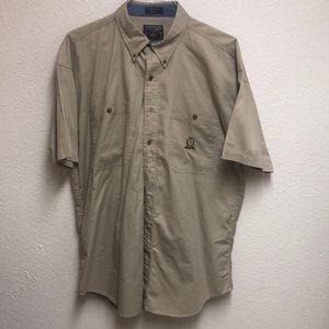 Vintage CHAPS Ralph Lauren Short Sleeve Button